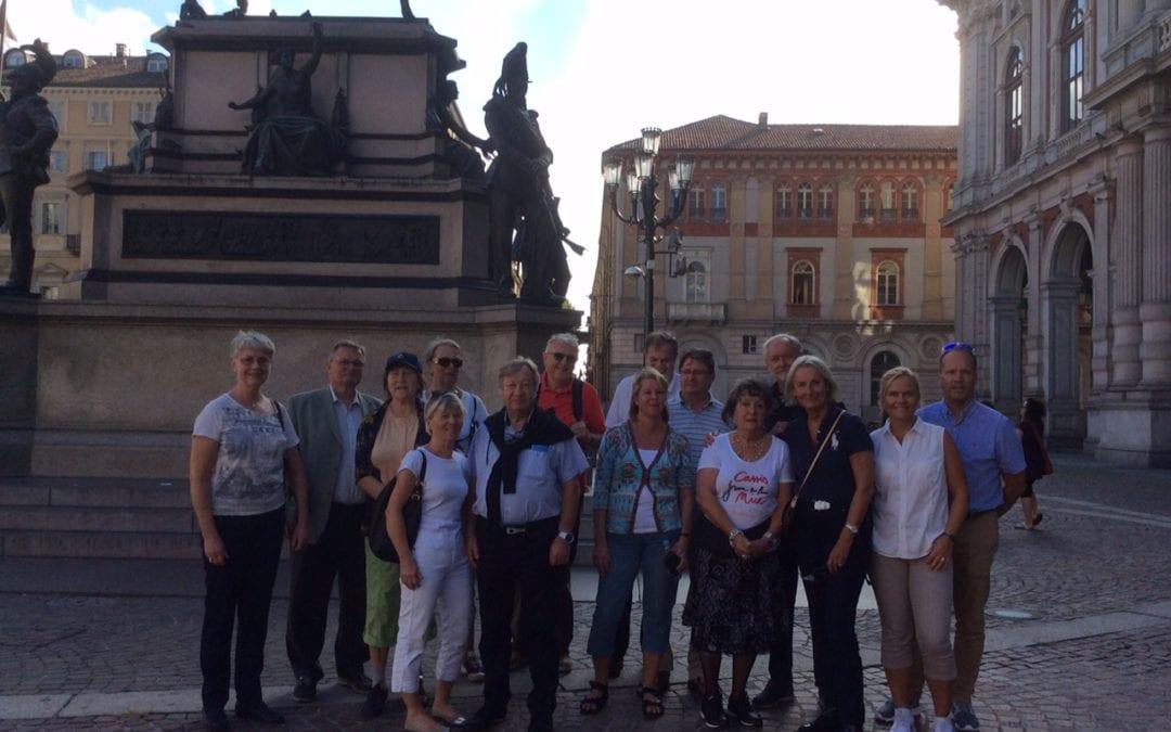 Vellykket studietur til Italia