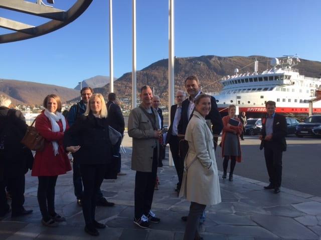 Finsk NOFI på besøk i Tromsø