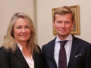 Sonja og Mikael Antell