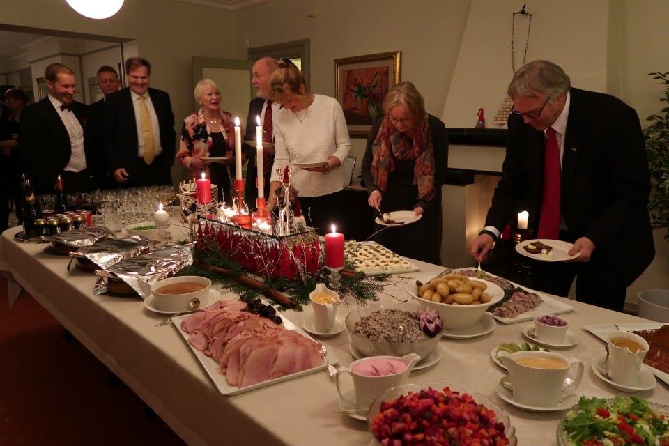 Vakker musikk og hyggelig stemning på foreningens julefest